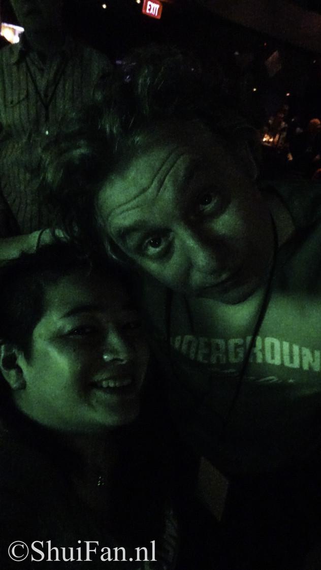 James Maddoch & me