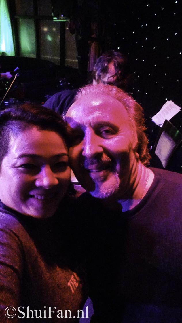 Joe Grushesky & me